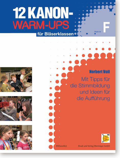 Kanon-Warm-Ups – Spielheft in F