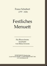Cover Festliches Menuett