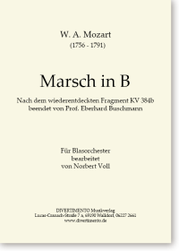 Cover Marsch in B